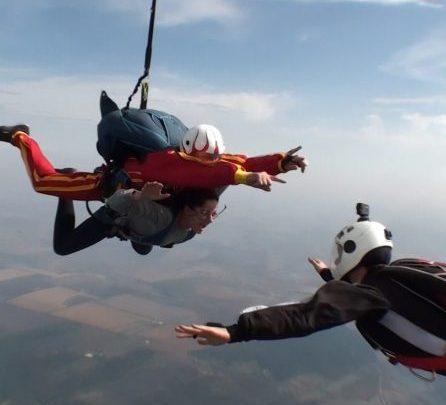 Photo of Zborul cu parașuta