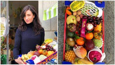 Photo of Domnica Popov livrează fructe din Italia, în Republica Moldova.