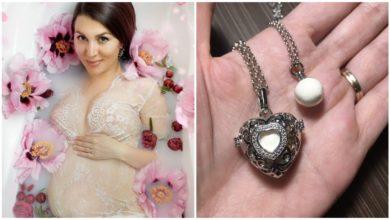 Photo of Lorina Țurcanu a creat bijuterii în care își păstrează laptele matern
