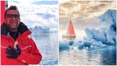 Photo of Pasiunile lui Anatol Untură se măsoară în mile nautice. Ce a găsit moldoveanul pe Groenlanda – cea mai mare insulă din lume, acoperită de gheață?