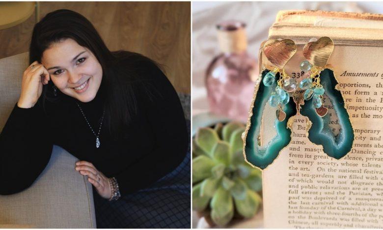 Photo of Anastasia Terzi confecționează bijuterii rafinate, cu puteri vindecătoare